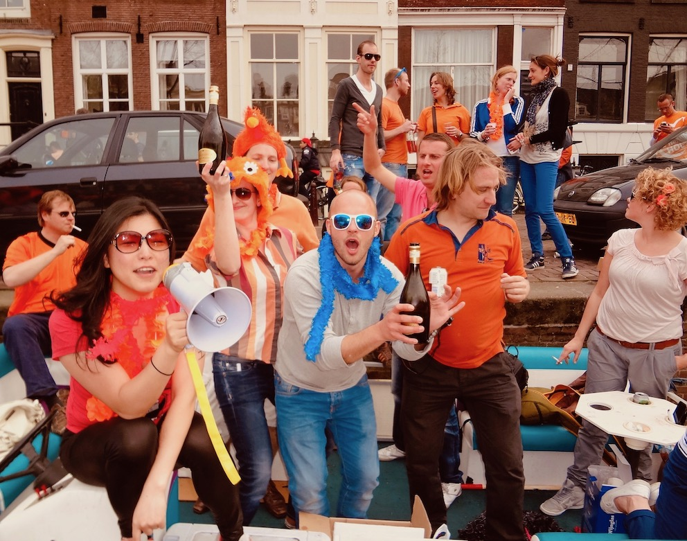 Queen's Day Amsterdam 2011.
