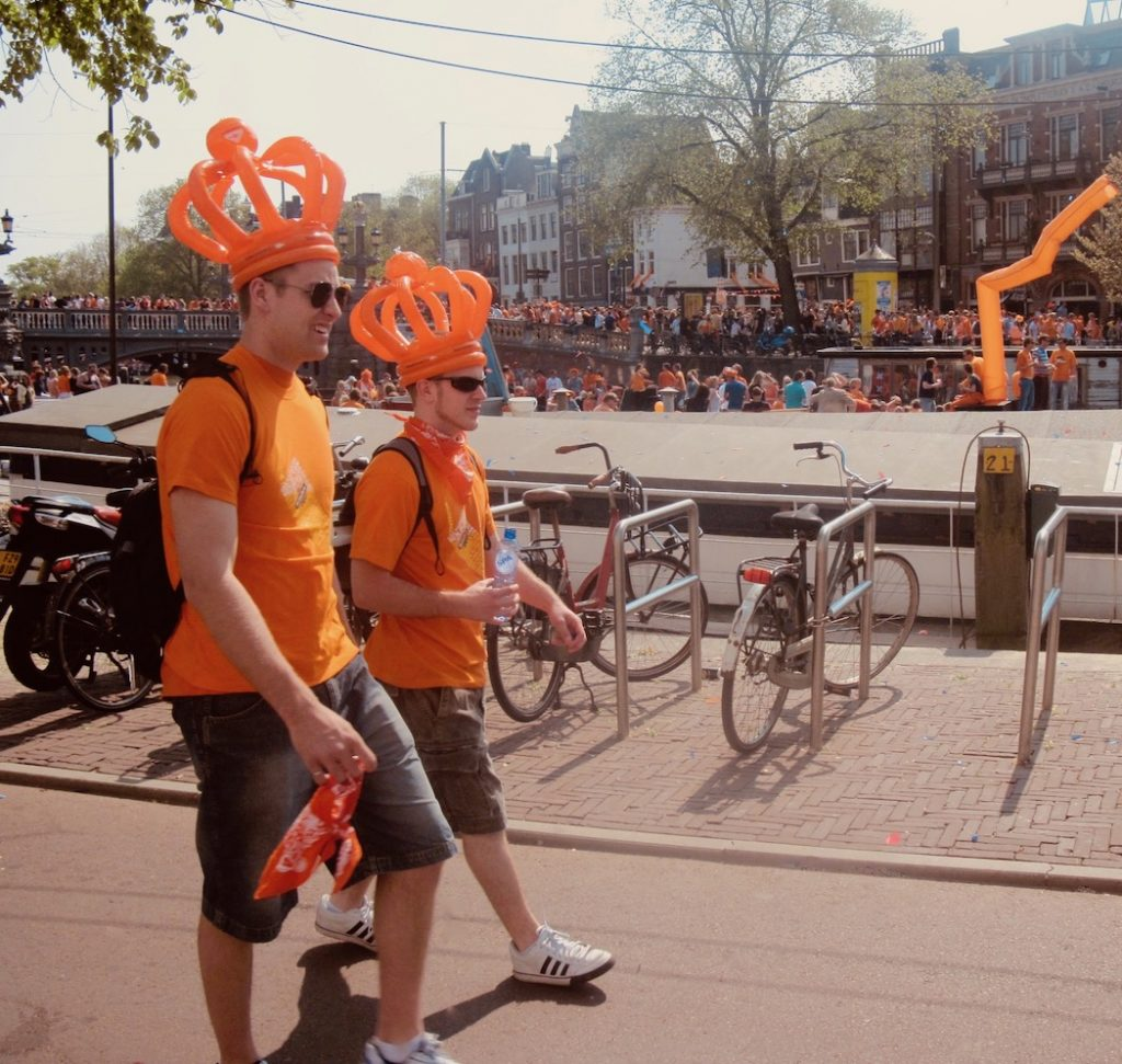 Queen's Day Amsterdam 2012.