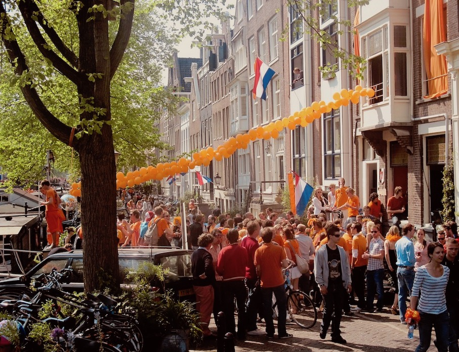 Queen's Day Party Amsterdam.