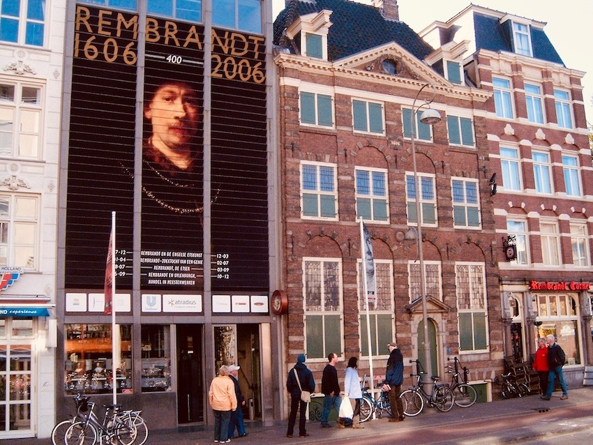 Rembrandt House Museum Amsterdam.