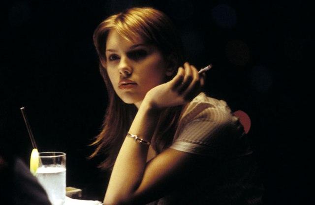 Scarlett Johansson Lost In Translation.