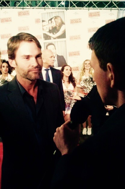 Seann William Scott red carpet Amsterdam.