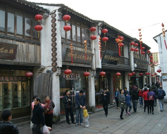 Shantang Street Suzhou China.