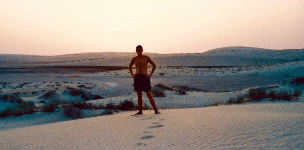 Singing Sand Dunes Doha.