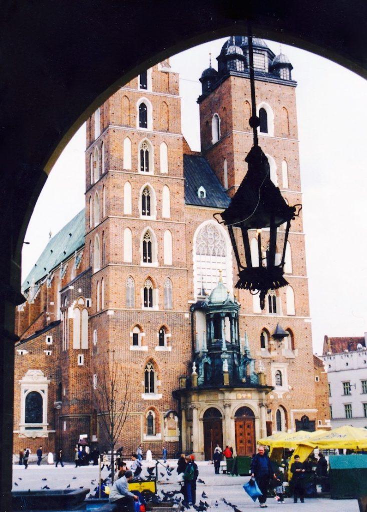 St. Mary's Basilica Krakow.