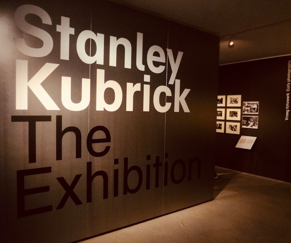 Stanley Kubrick The Exhibition Eye Film Museum Amsterdam.
