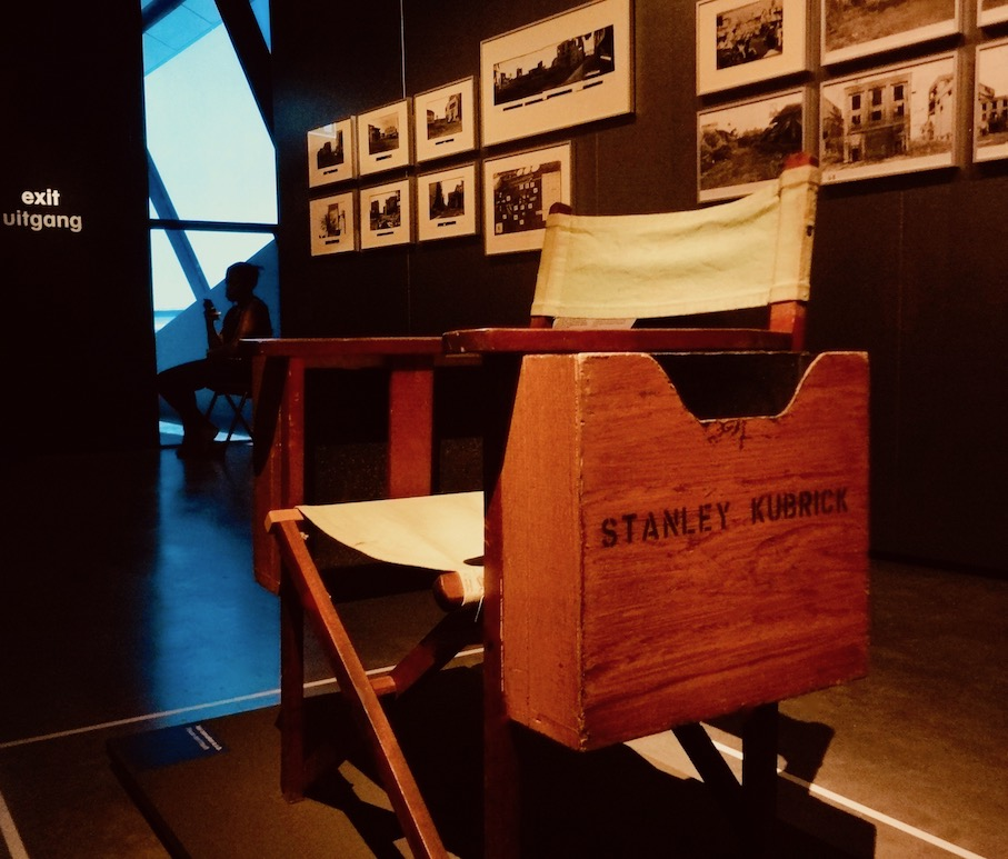 Stanley Kubrick's Director Chair Eye Film Museum Amsterdam.