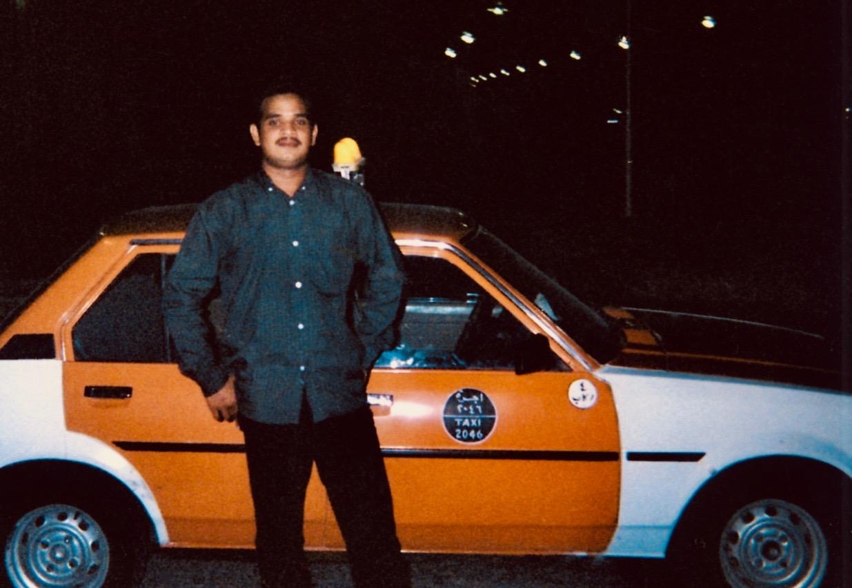 Taxi driver Doha 2001.