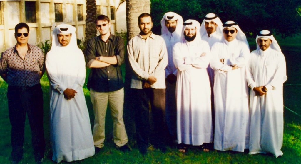 Teach English in Doha Qatar.