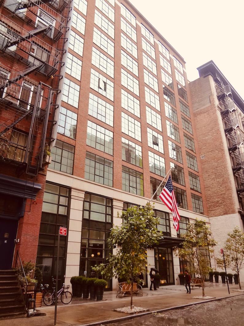 The Crosby Street Hotel New York City.