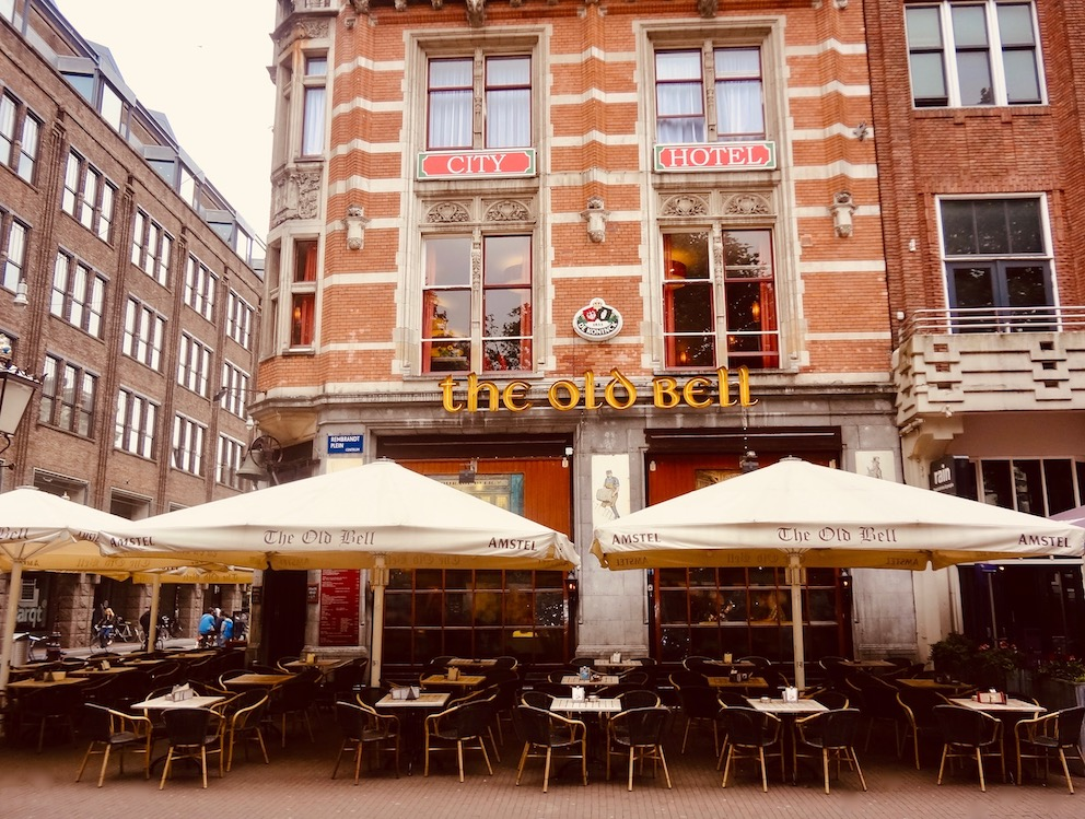The Old Bell Pub Rembrandtplein Amsterdam.