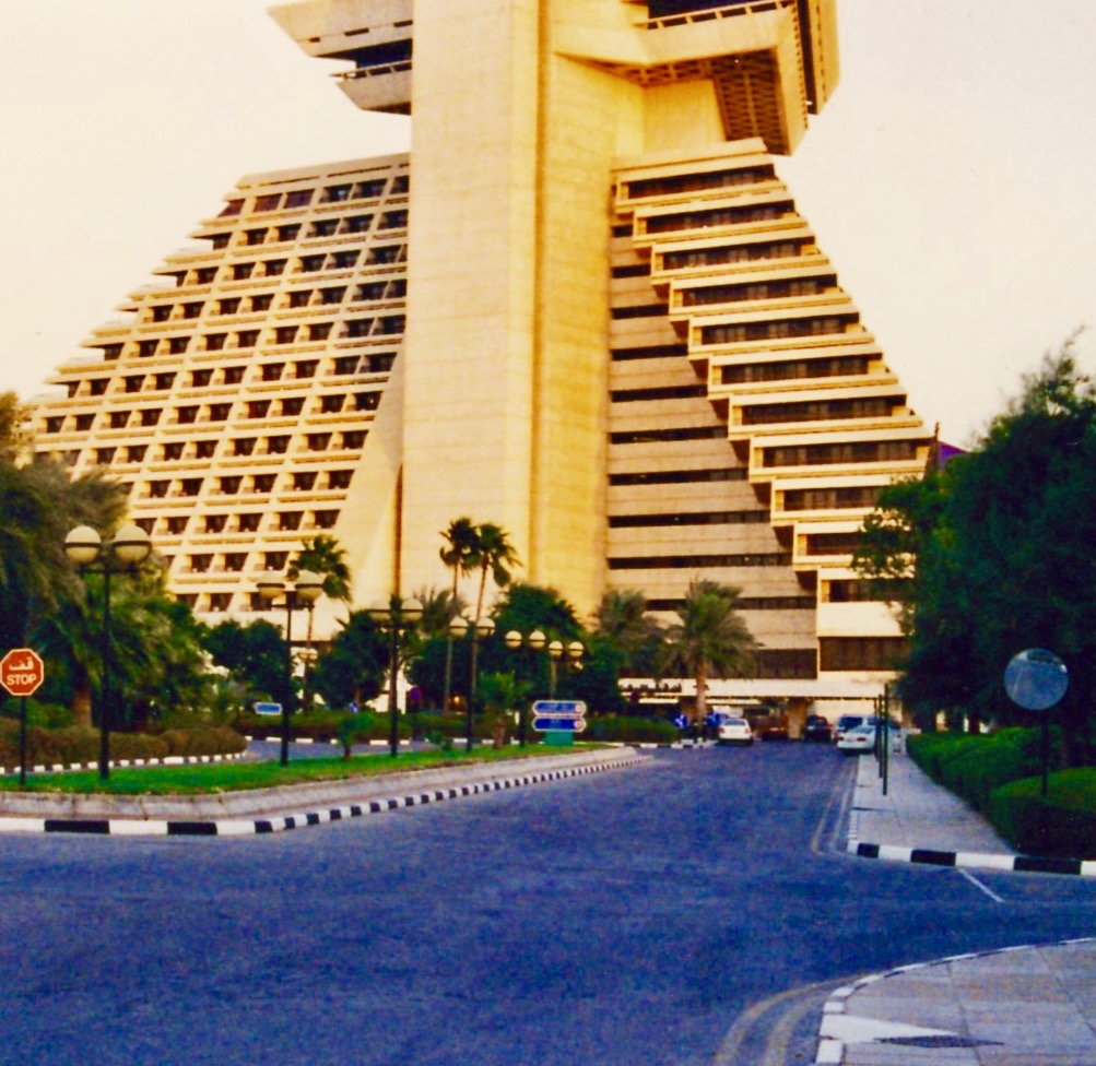 The Sheraton Hotel Doha.