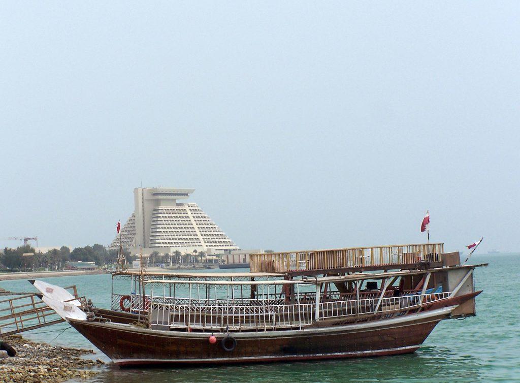 The Sheraton Hotel Doha Qatar.