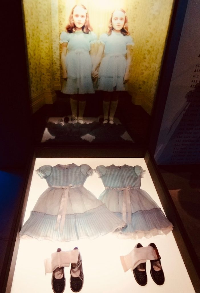 The Shining Twins' costumes Eye Film Museum Amsterdam.
