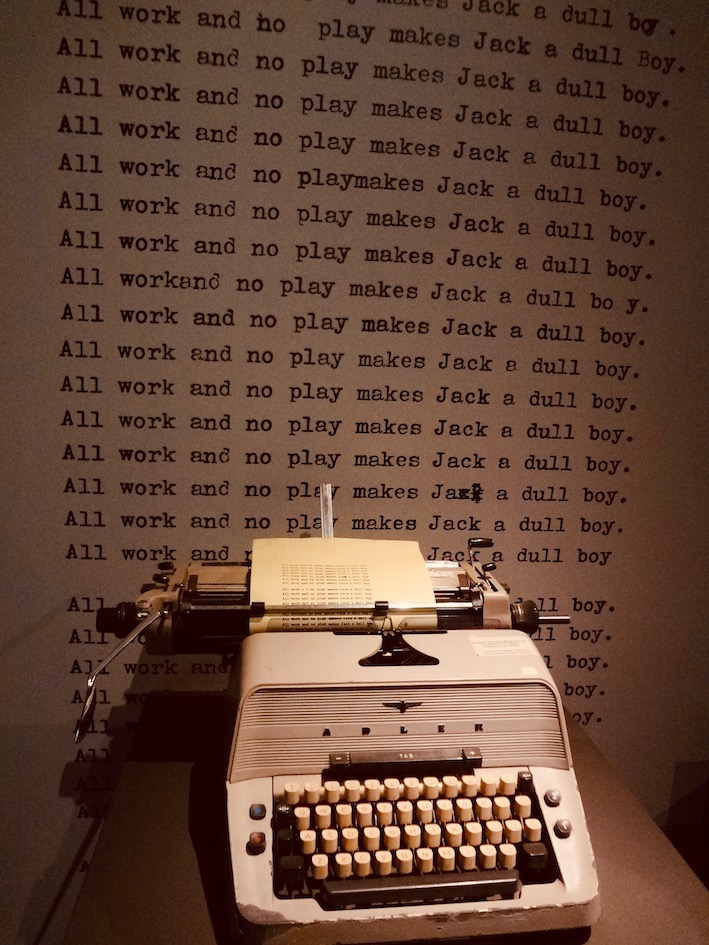 The Shining Typewriter Eye Film Museum Amsterdam.