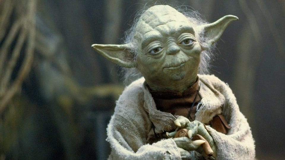 Yoda Star Wars.