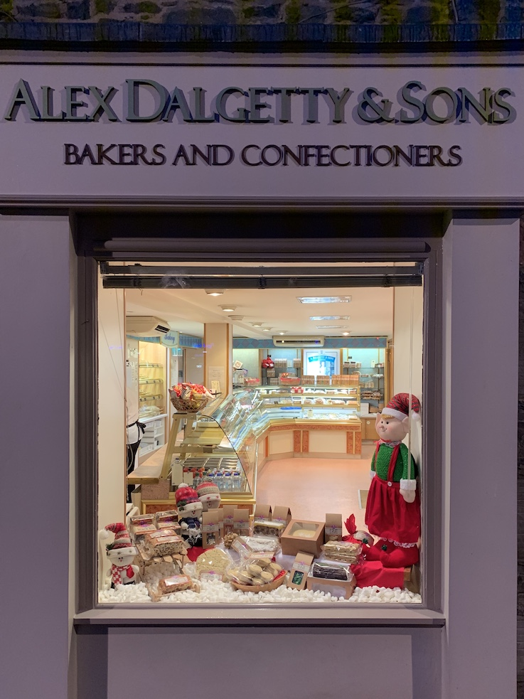 Alex Dalgetty and Sons Bakers.