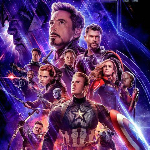 Avengers Endgame movie poster.