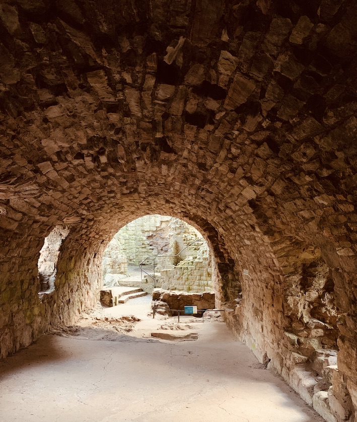 Bakehouse and brewhouse Hailes Castle Scotland.