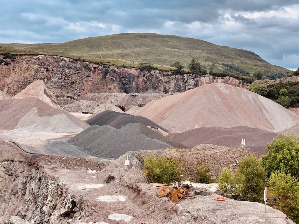 Banavie Quarry Scotland.