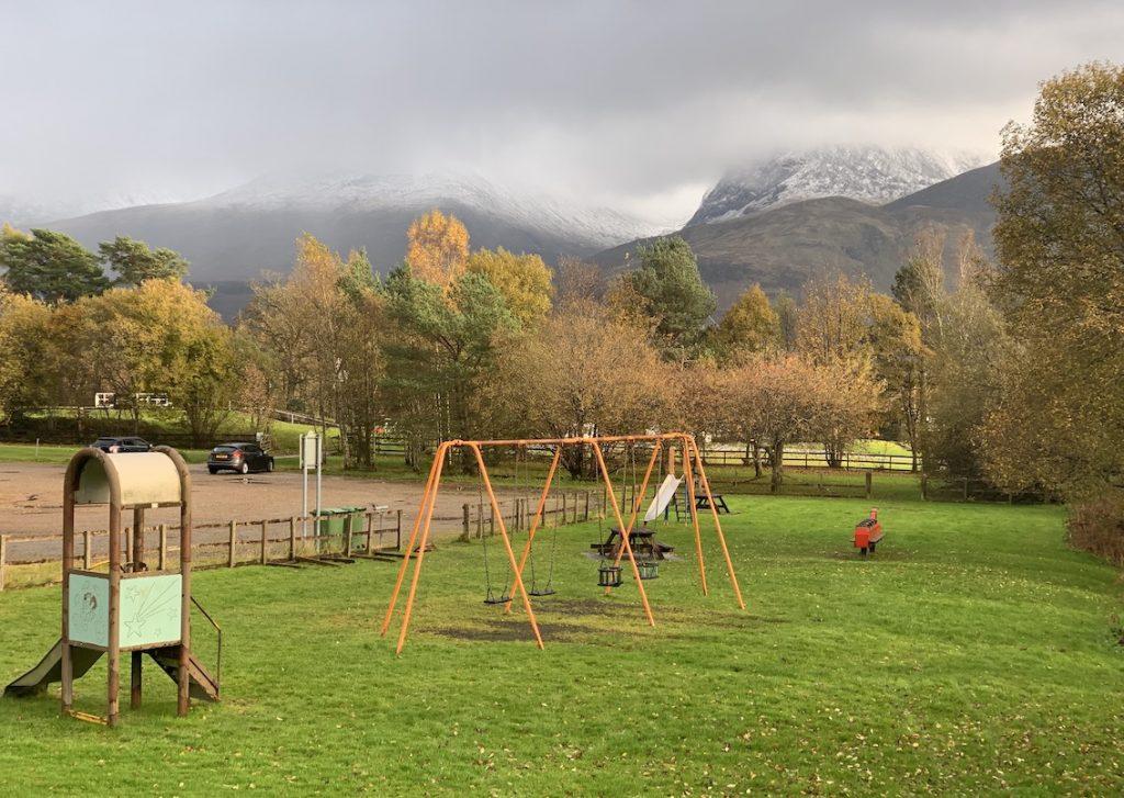 Banavie Swing Park Scotland.