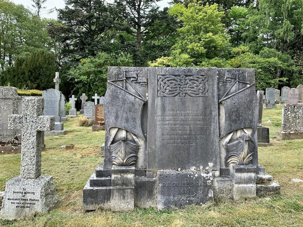 Caddonfoot Parish Church Cemetery The Scottish Borders.