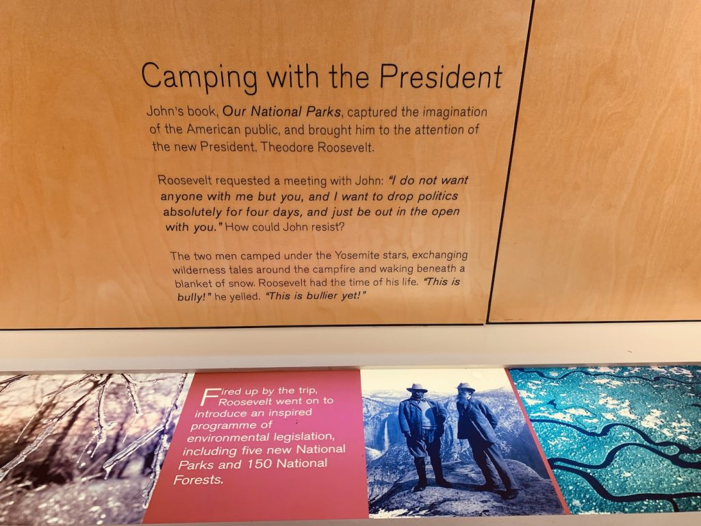Camping with President Roosevelt John Muir.