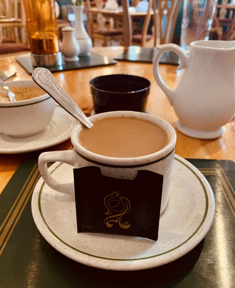 Coffee with After Eight Eastern Eye Indian Restaurant Haddington.