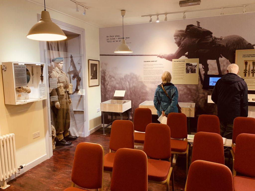 Commando Room West Highland Museum Fort William.