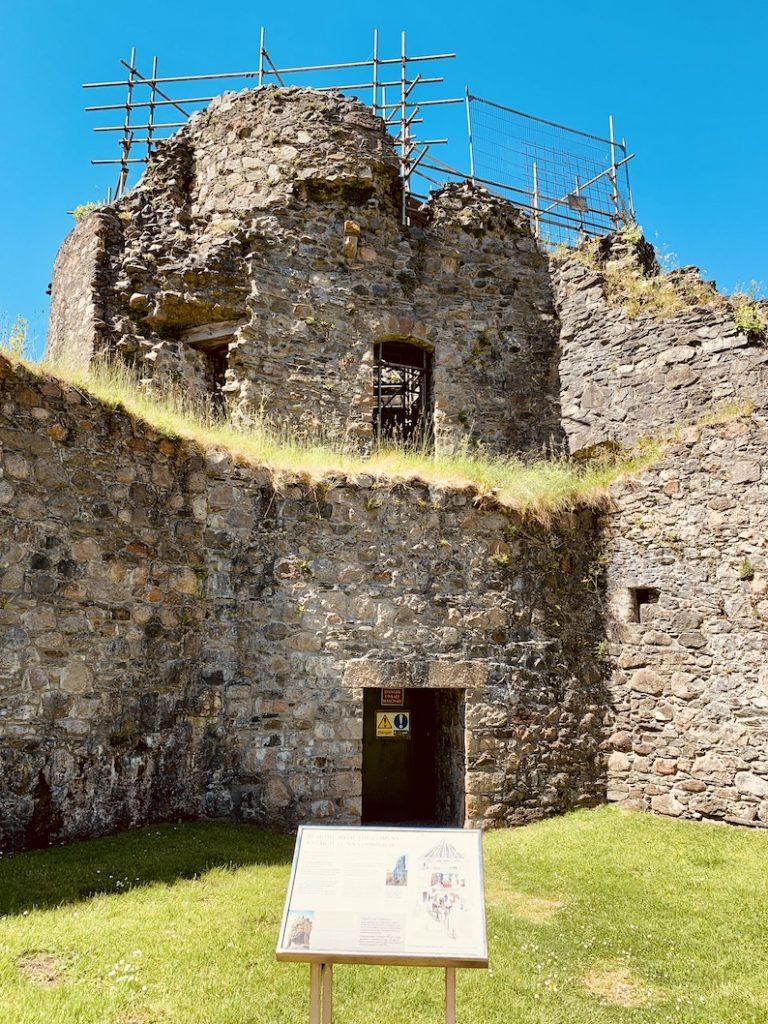 Comyn's Tower Inverlochy Castle Scotland.