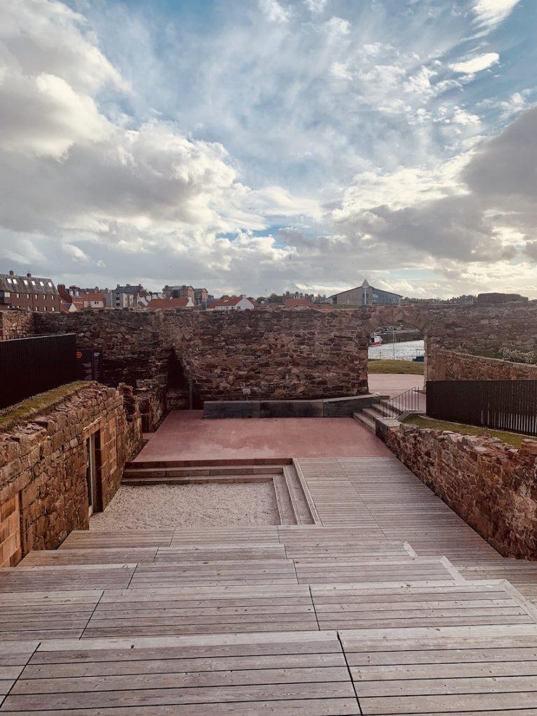Dunbar Battery Amphitheatre Scotland.