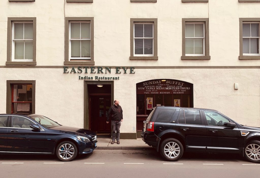 Eastern Eye Indian Restaurant Haddington East Lothian.