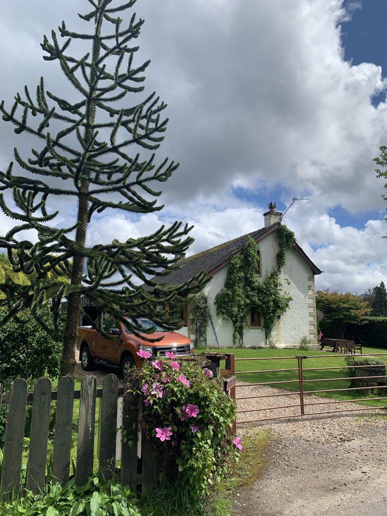 Farmhouse Gairlochy Scotland.