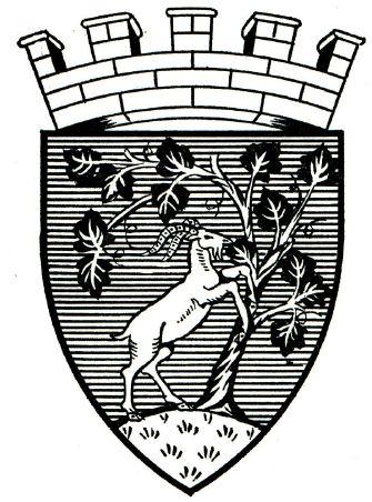 Haddington Crest of Arms East Lothian Scotland.