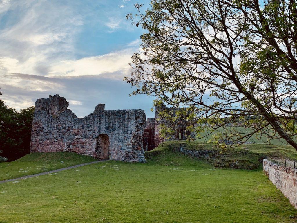 Hailes Castle East Lothian Scotland.