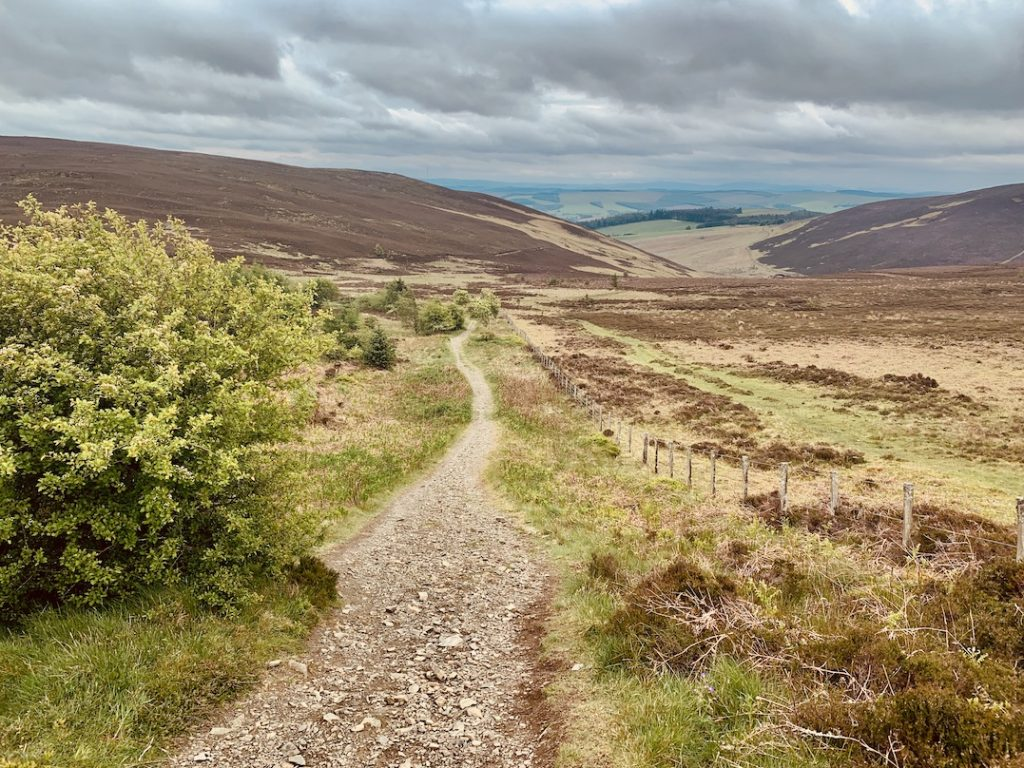 Hiking The Southern Upland Way Scotland.