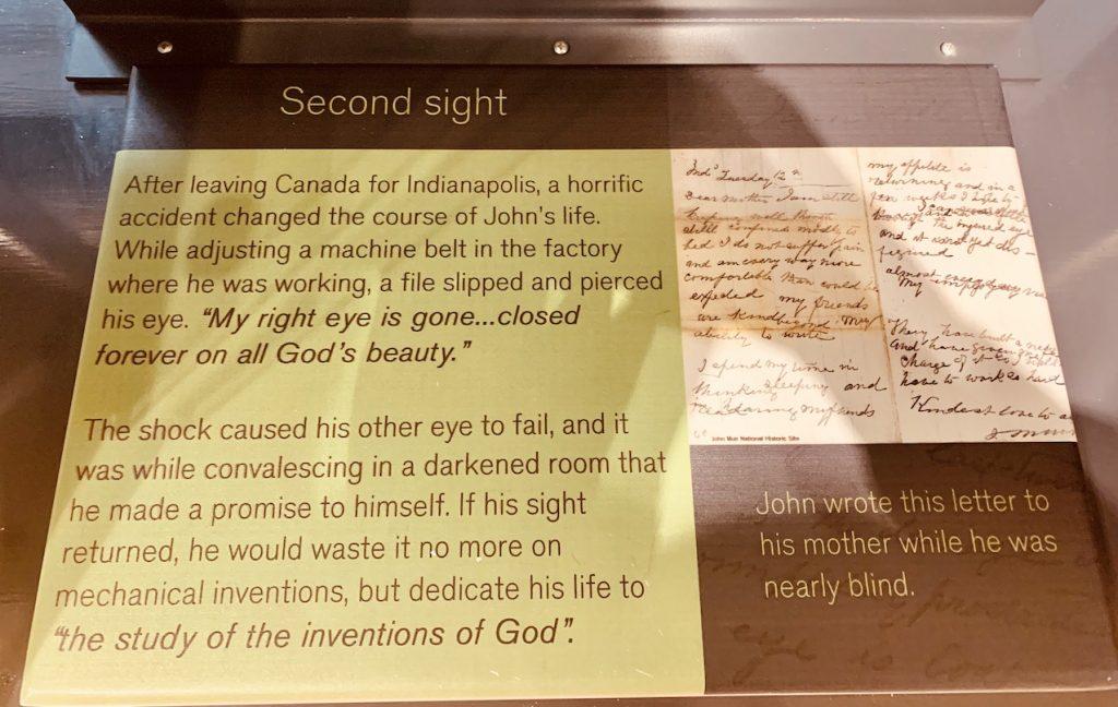 John Muir Museum Dunbar Scotland.