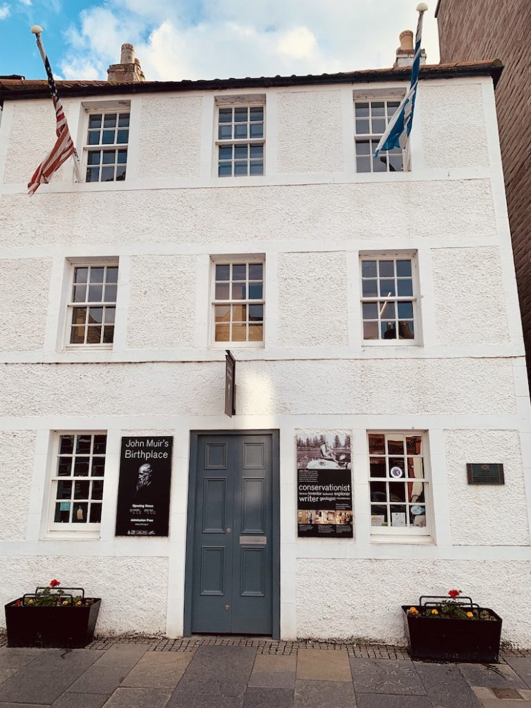 John Muir's Birthplace Dunbar Scotland.