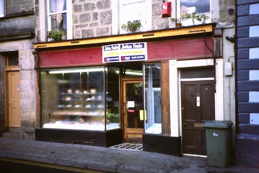 Laird's Bakery Market Street Haddington.