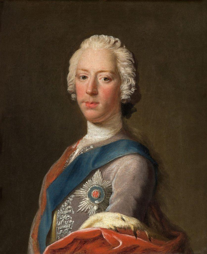 Portrait Charles Edward Stuart Bonnie Prince Charlie.