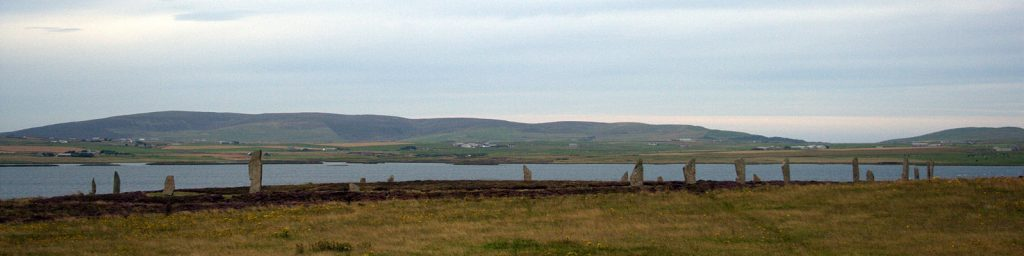 Ring of Brodgar Orkney Scotland.