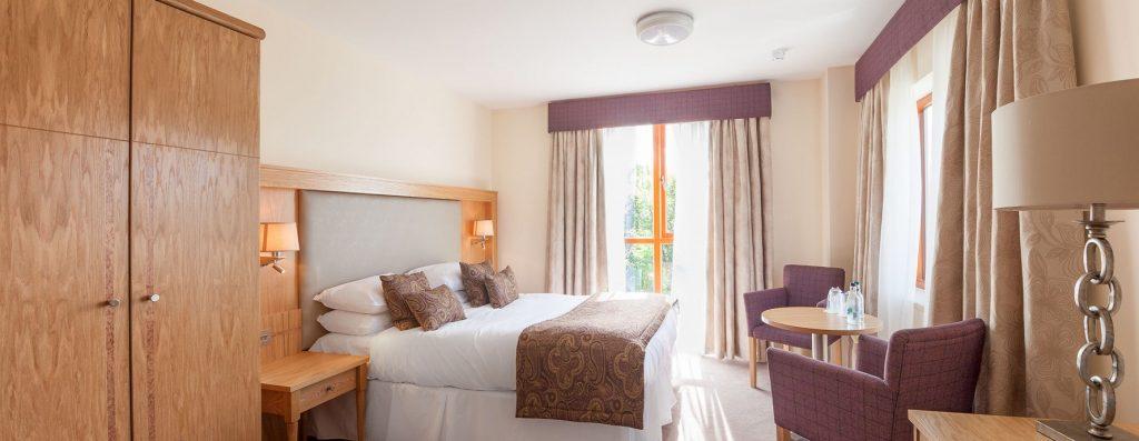 Room 34 The Moorings Hotel.