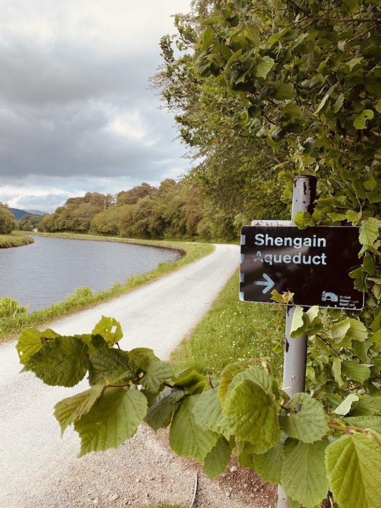 Shengain Aqueduct The Great Glen Way.