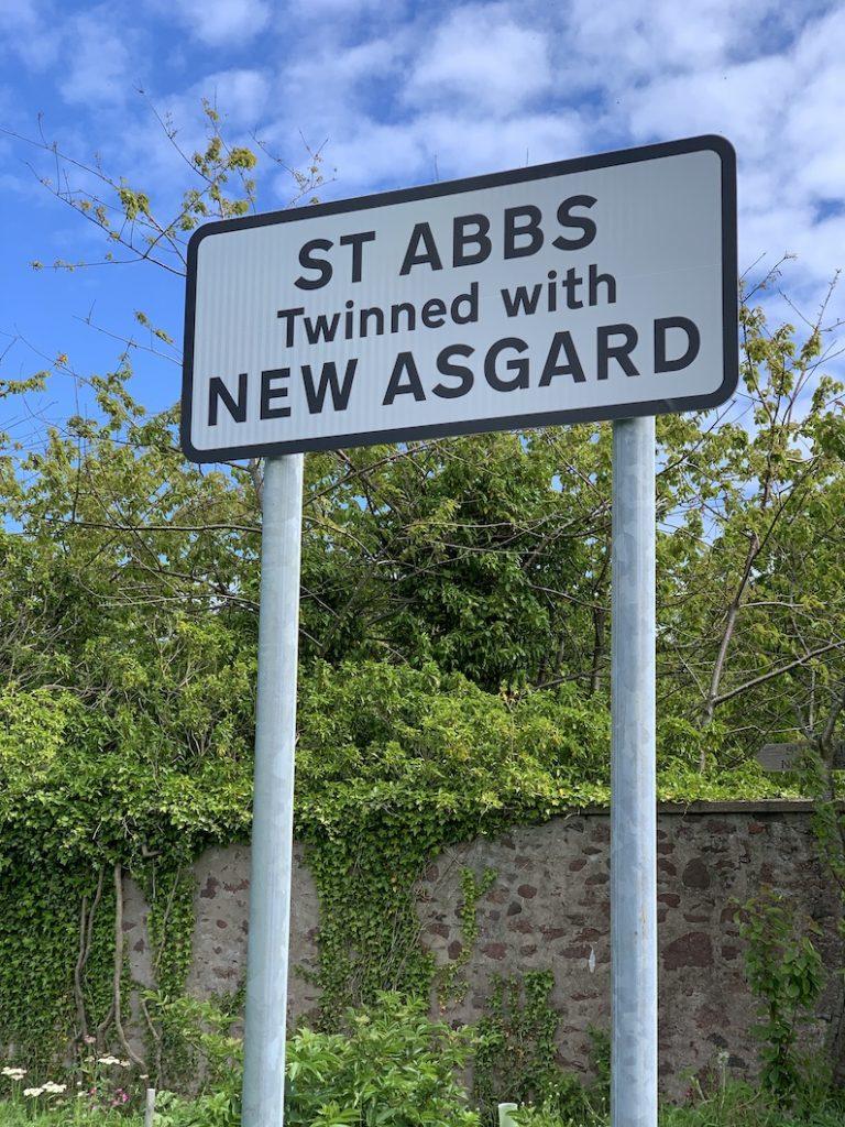 St Abbs Village Scotland Twinned with New Asgard