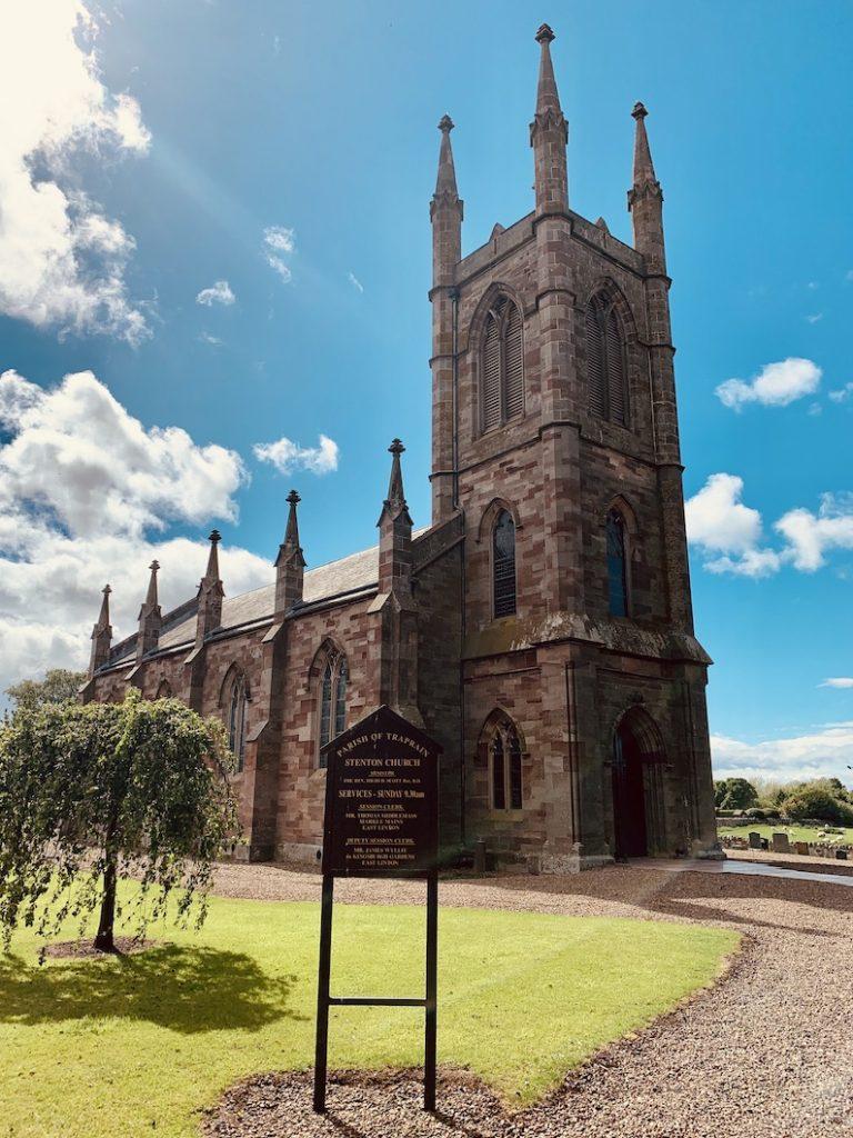 Stenton Parish Church East Lothian Scotland.