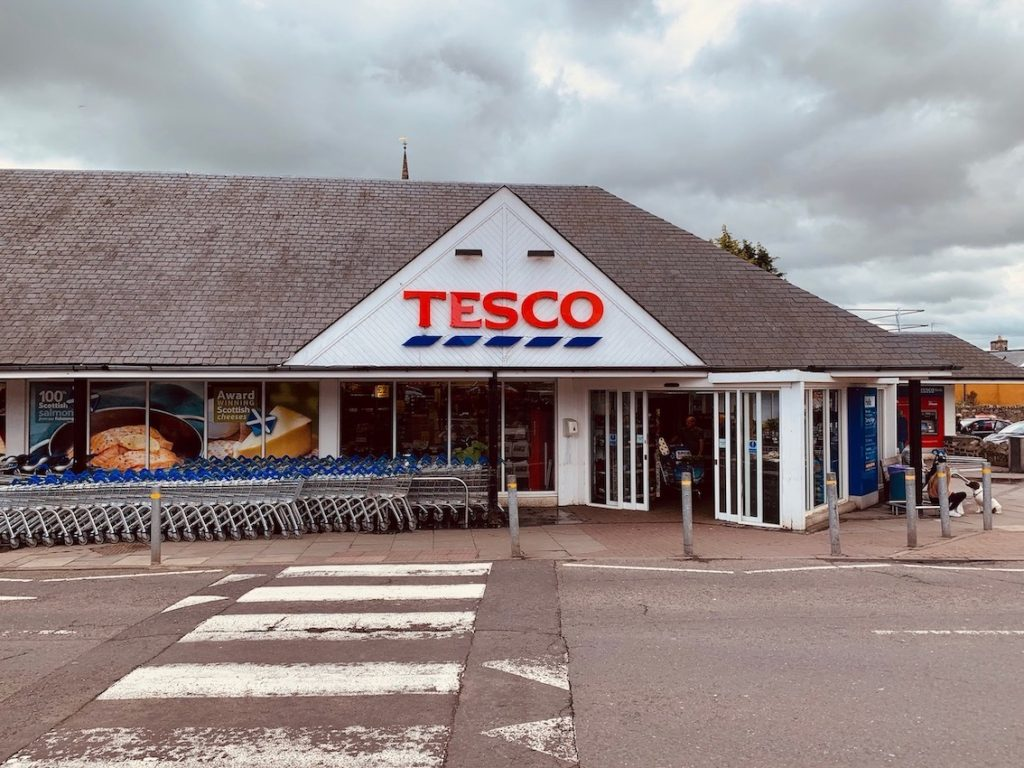 Tesco Haddington East Lothian.