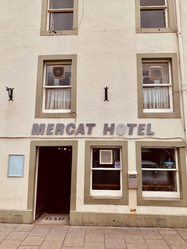 The Mercat Hotel Haddington East Lothian.