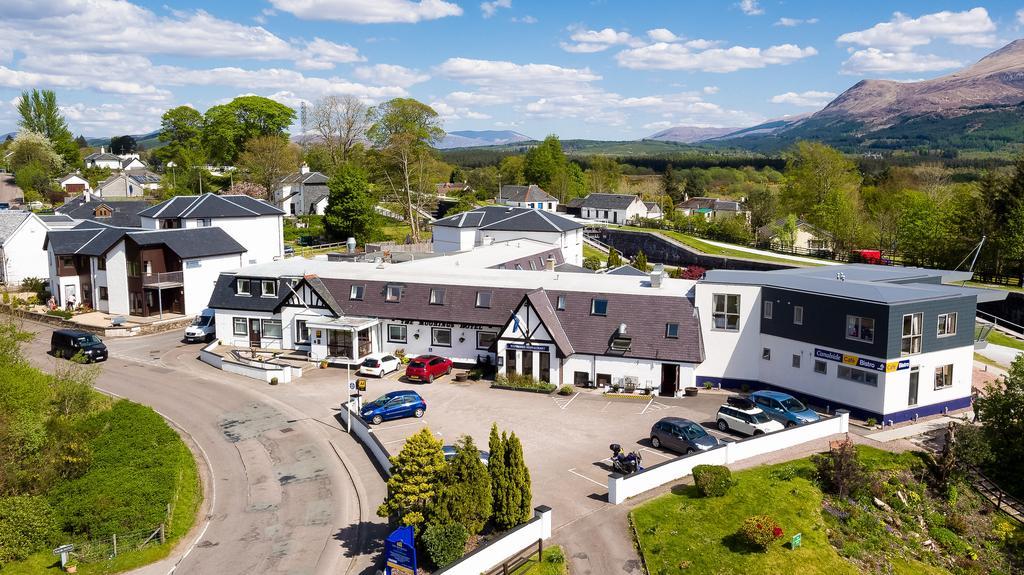 The Moorings Hotel in Banavie Scotland.