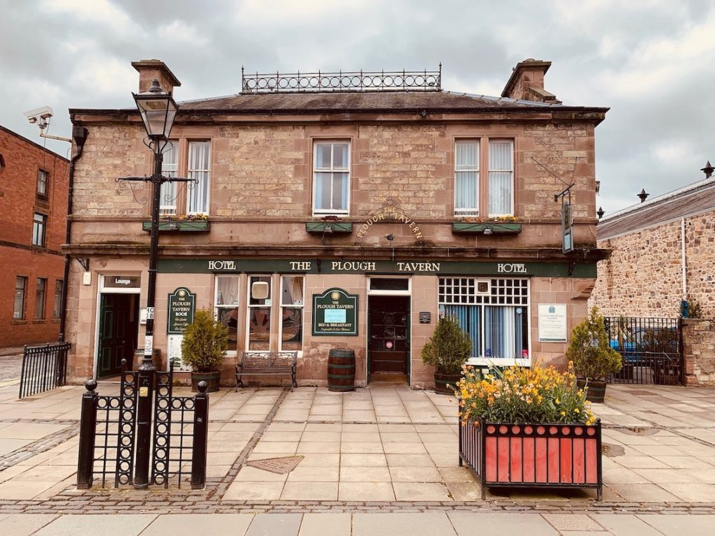 The Plough Tavern & Hotel Haddington Scotland.