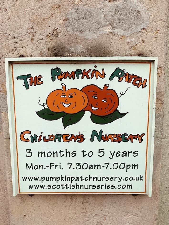 The Pumpkin Patch Children's Nursery Haddington.